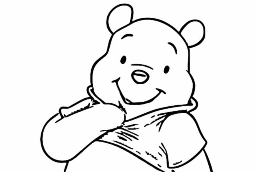 Winnie The Pooh Coloring Page 139