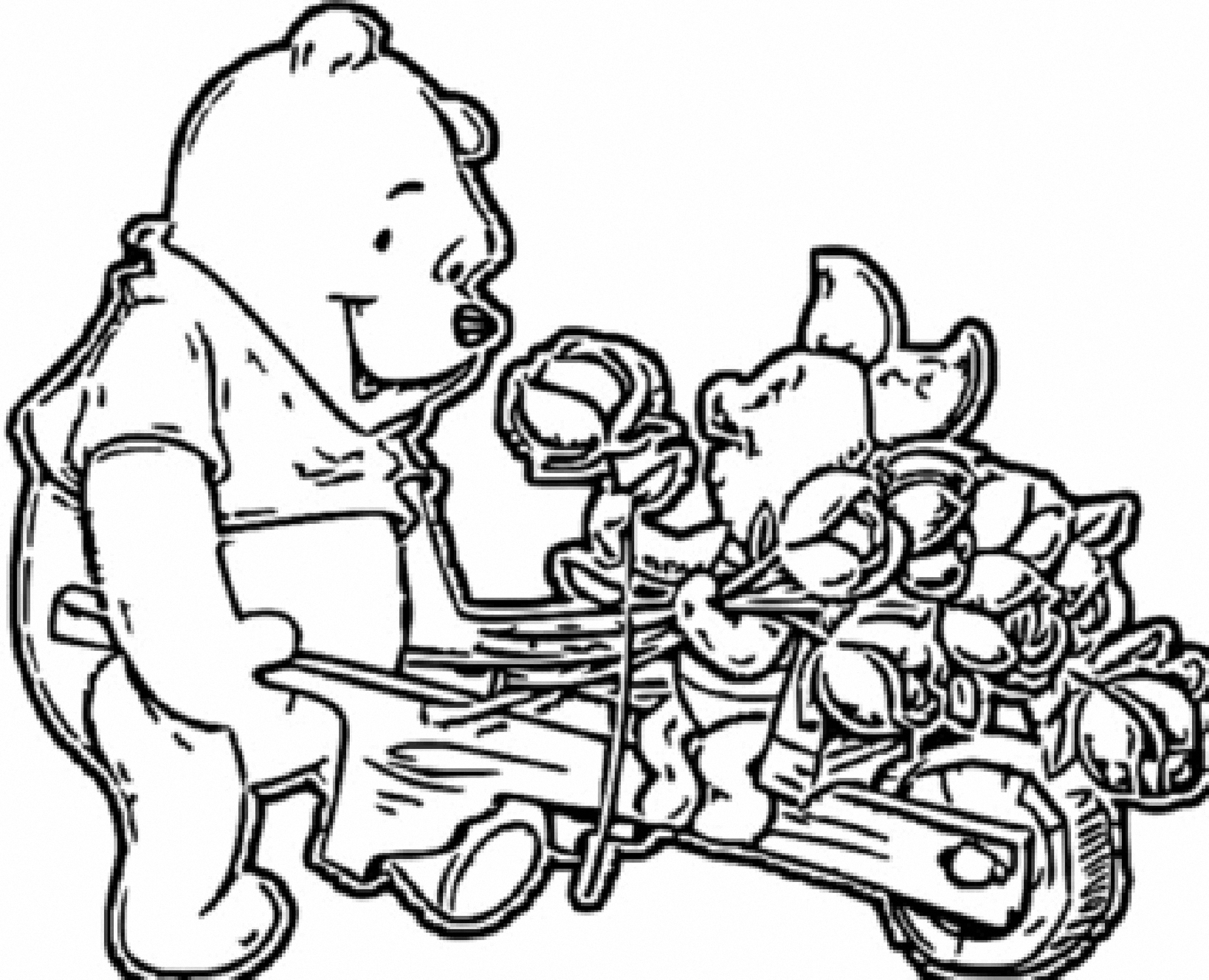 Winnie The Pooh Coloring Page 151