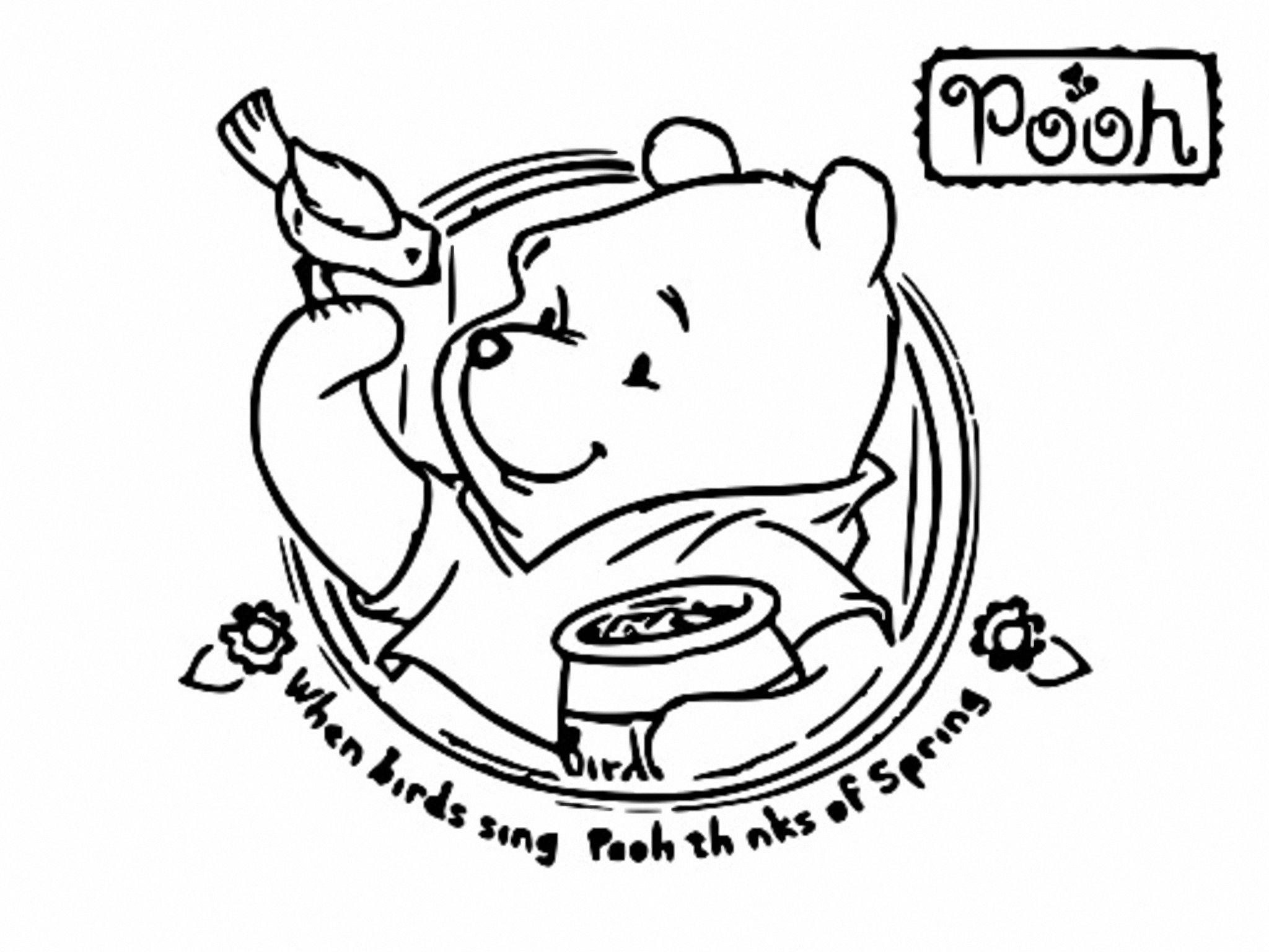 Winnie The Pooh Coloring Page 152