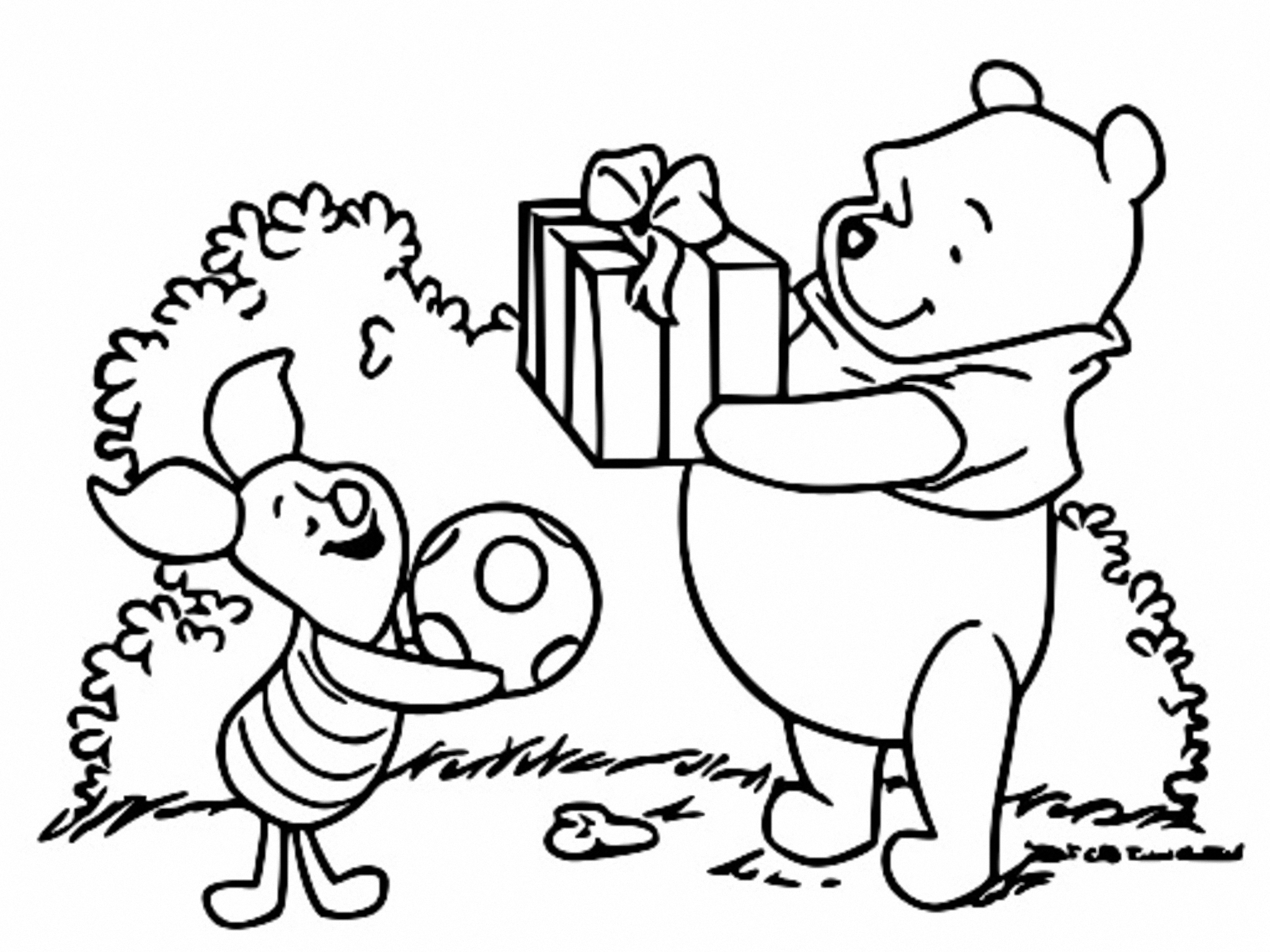 Winnie The Pooh Coloring Page 156