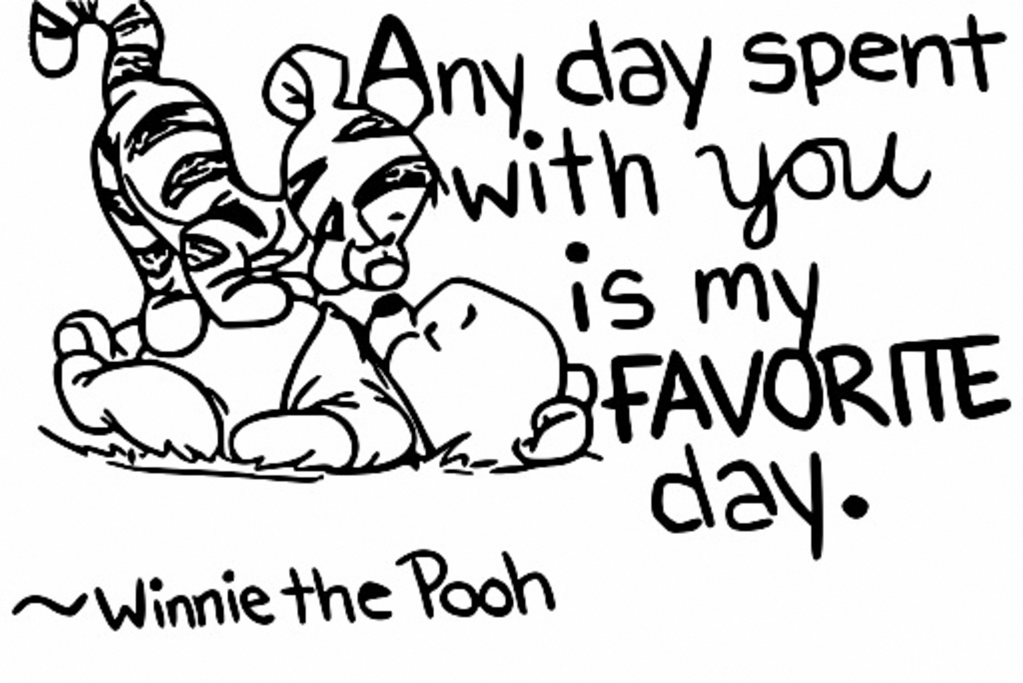Winnie The Pooh Coloring Page 157