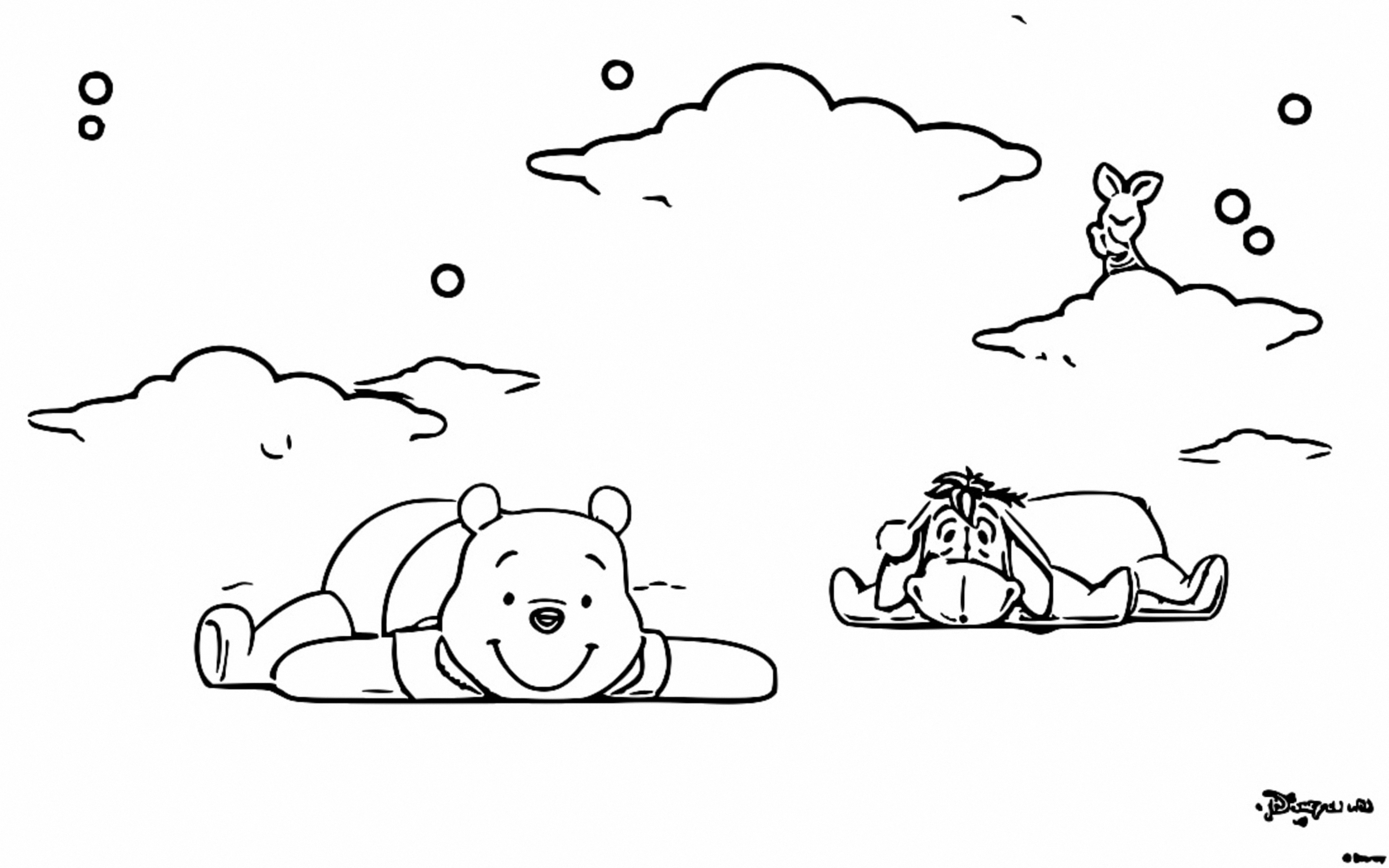 Winnie The Pooh Coloring Page 167