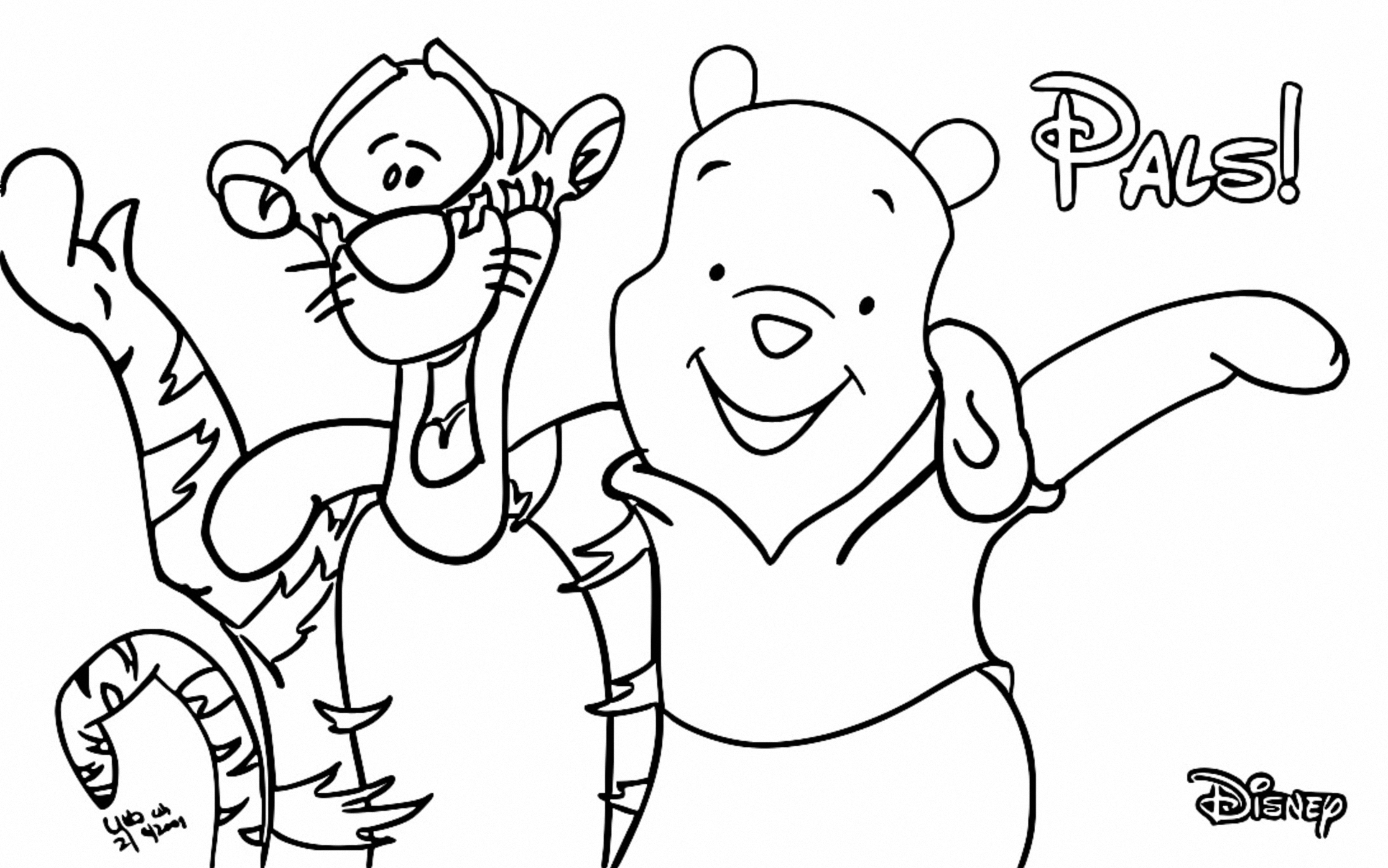 Winnie The Pooh Coloring Page 173