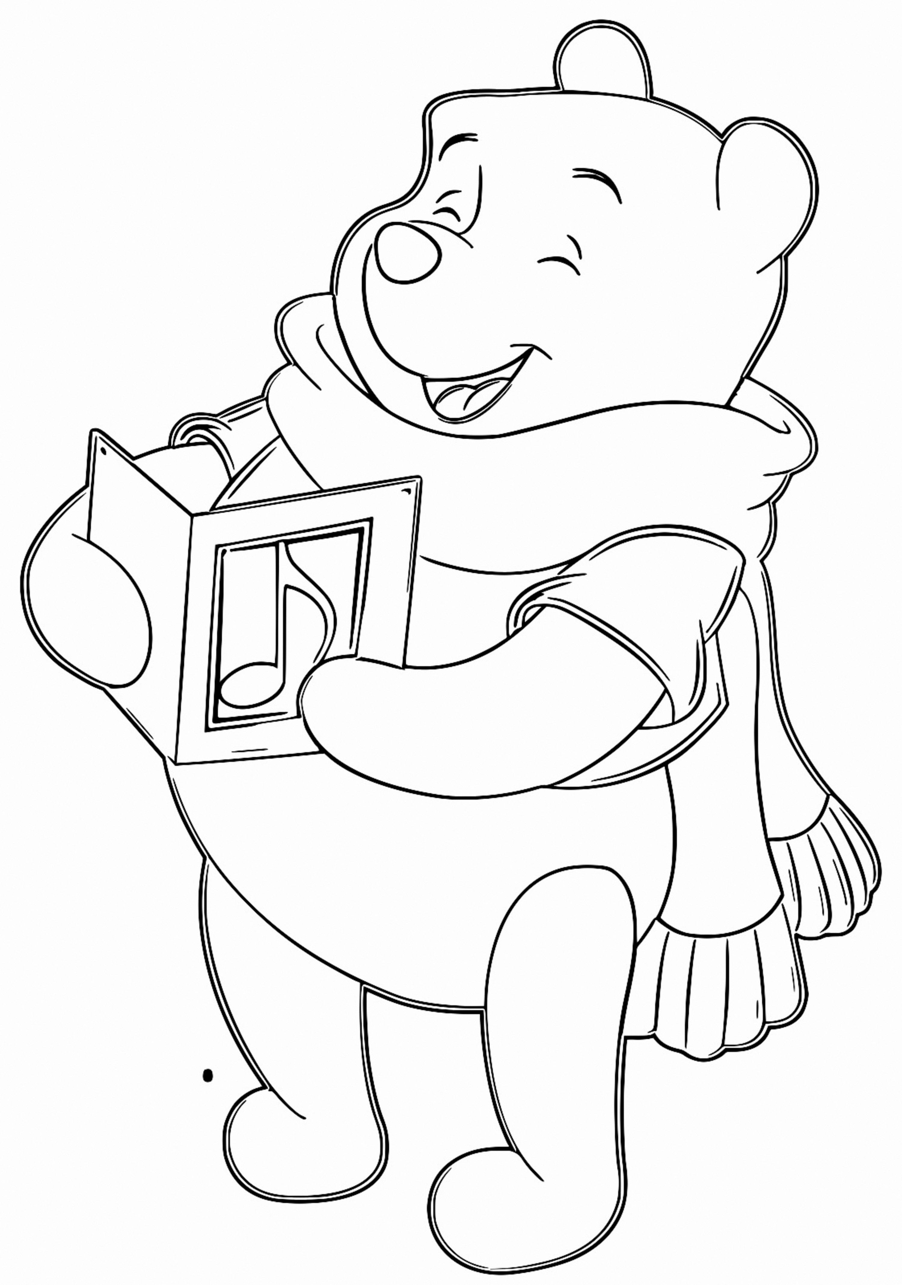 Winnie The Pooh Coloring Page 180