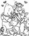 Winnie The Pooh Coloring Page 184