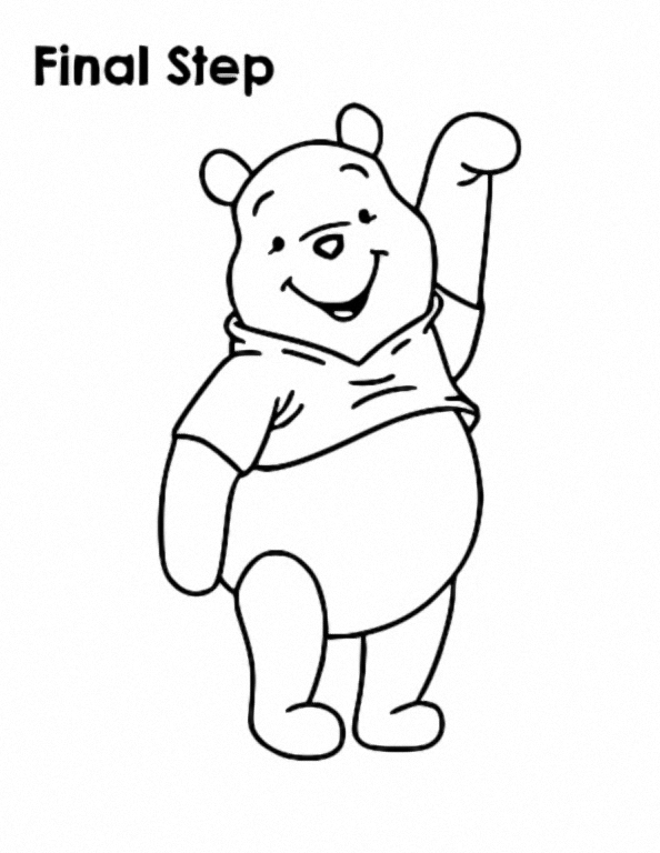 Winnie The Pooh Coloring Page 187