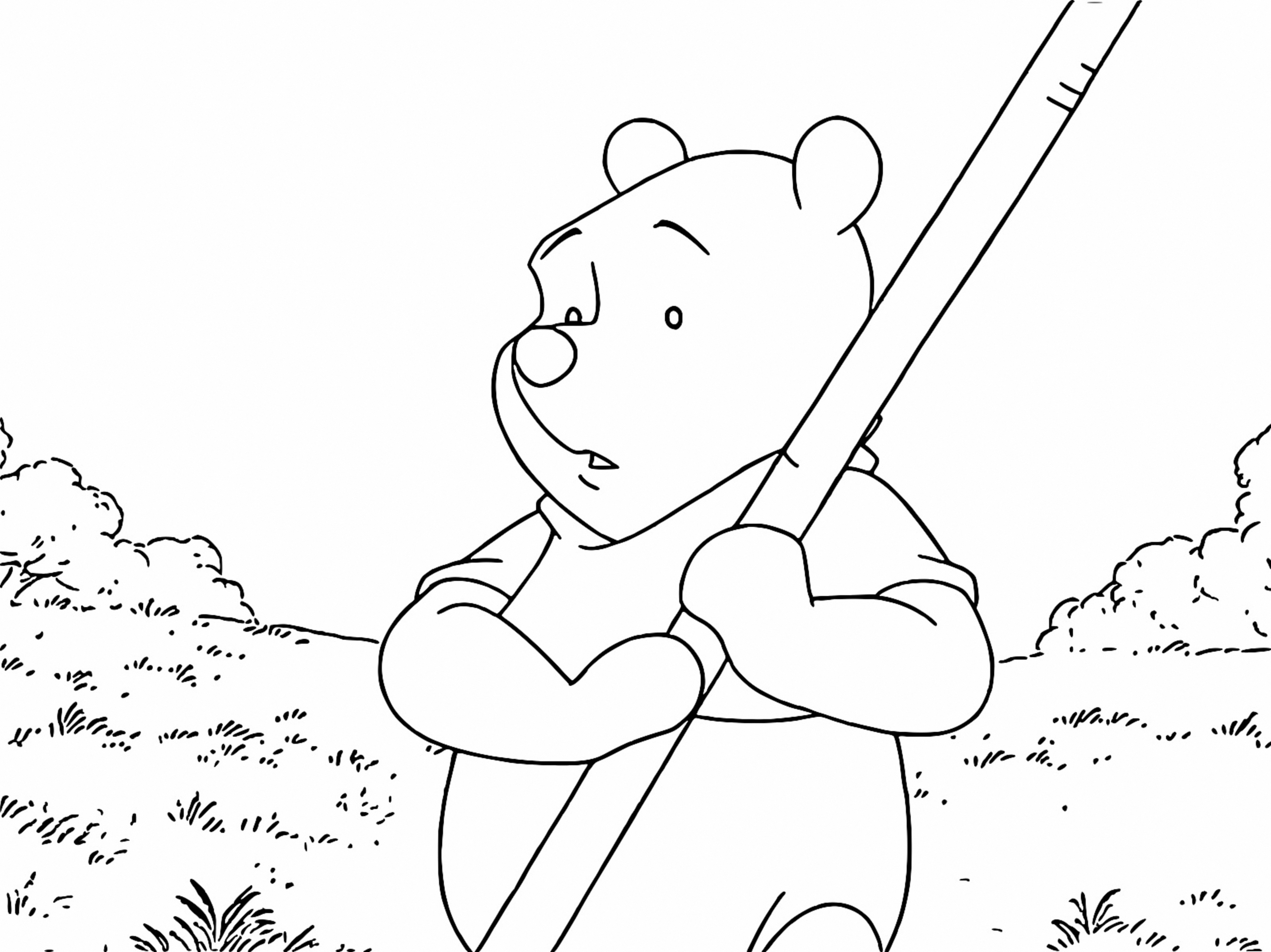 Winnie The Pooh Coloring Page 189
