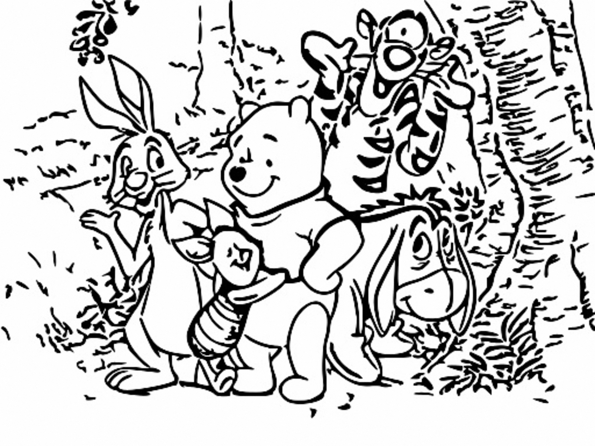 Winnie The Pooh Coloring Page 191