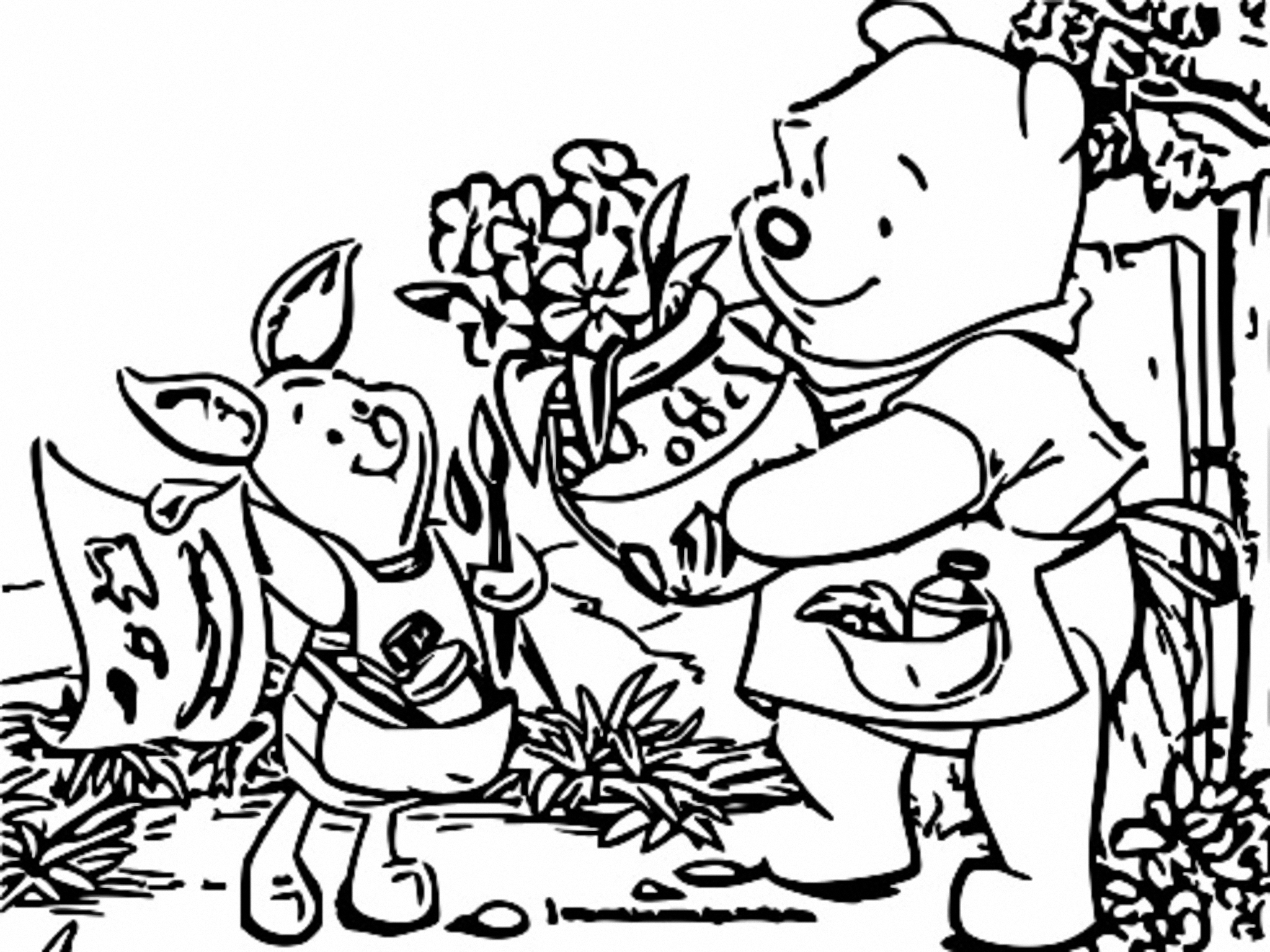 Winnie The Pooh Coloring Page 200