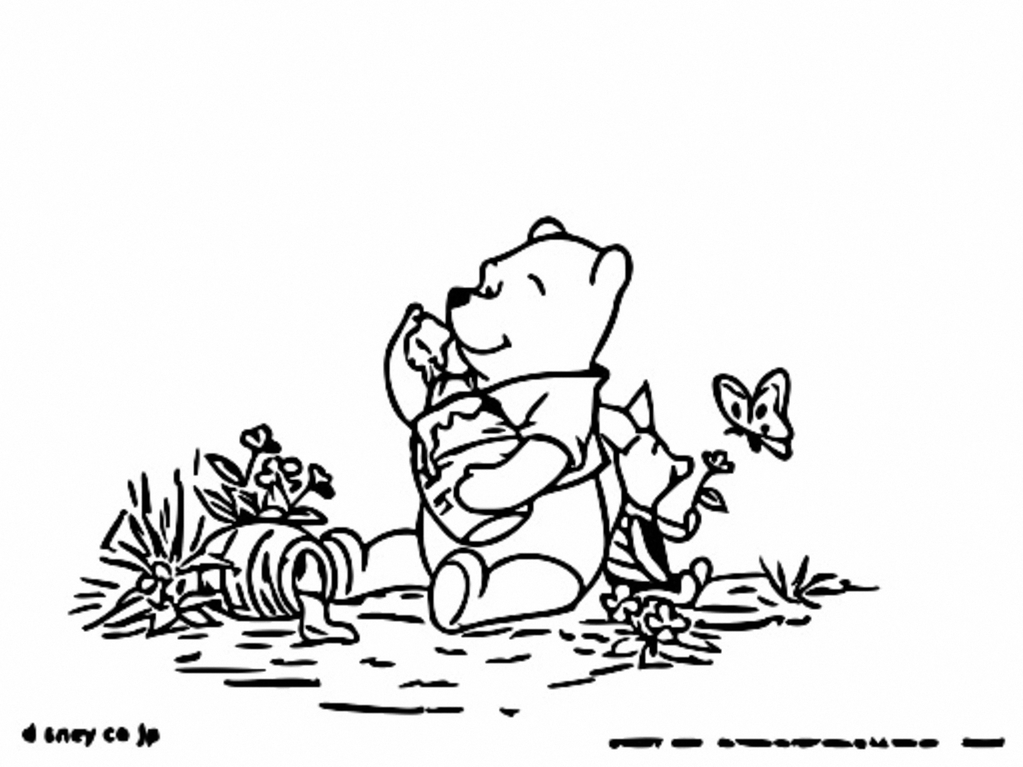 Winnie The Pooh Coloring Page 202