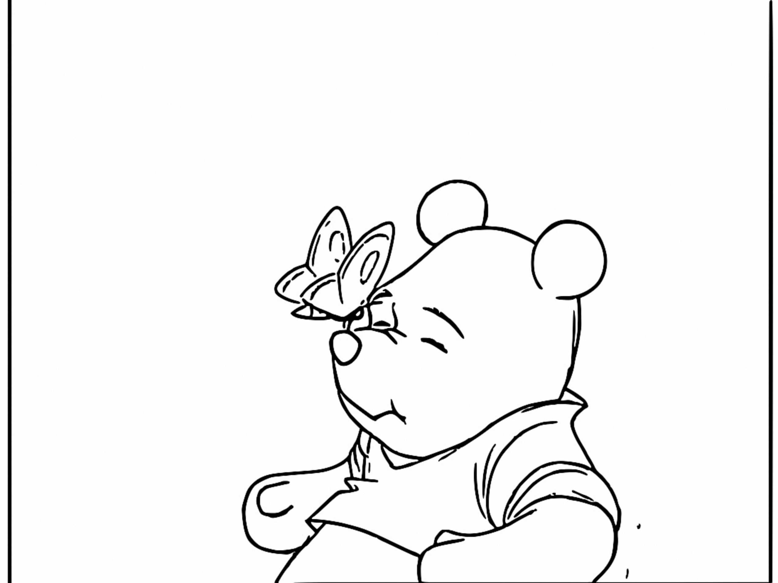Winnie The Pooh Coloring Page 208