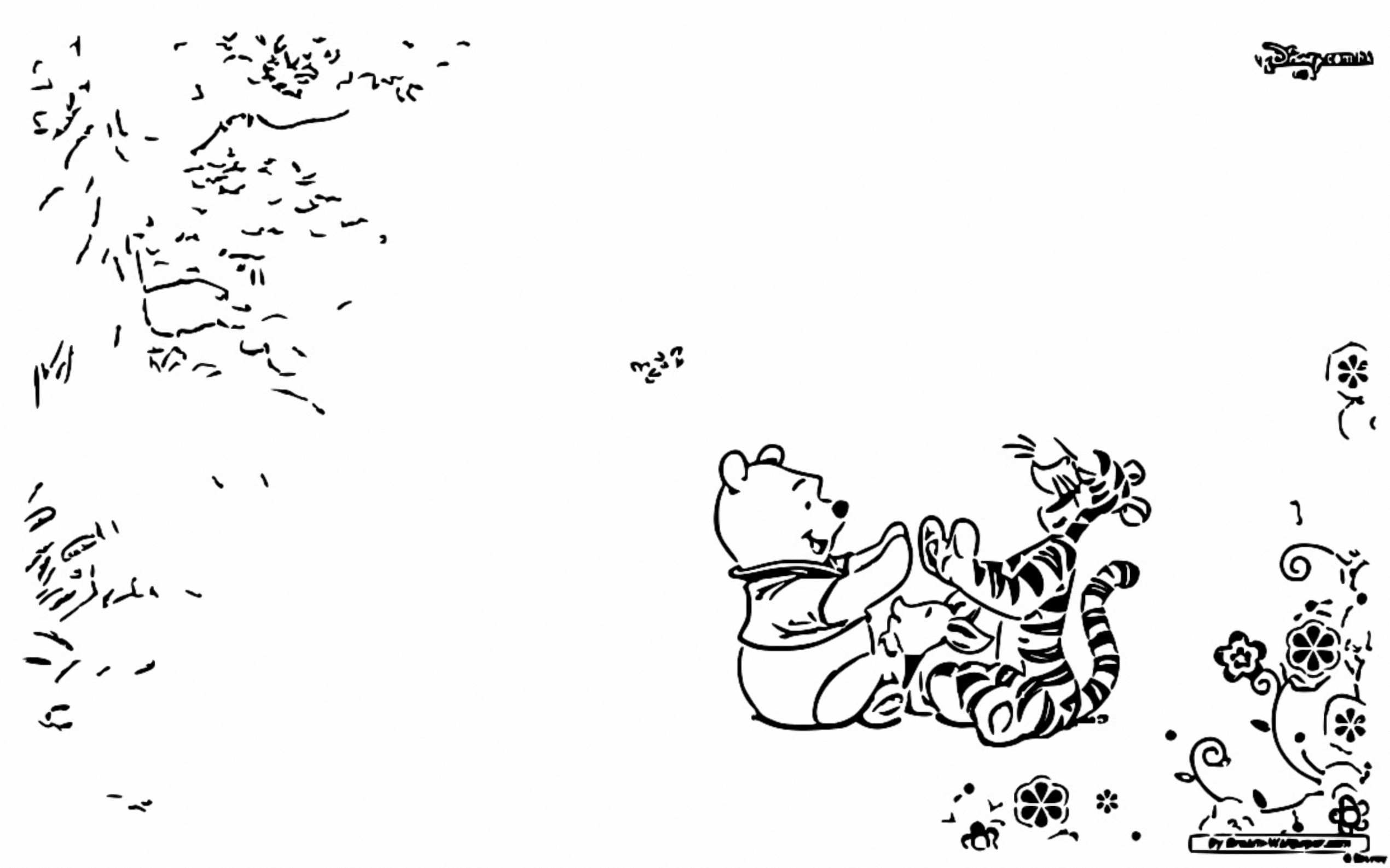 Winnie The Pooh Coloring Page 217