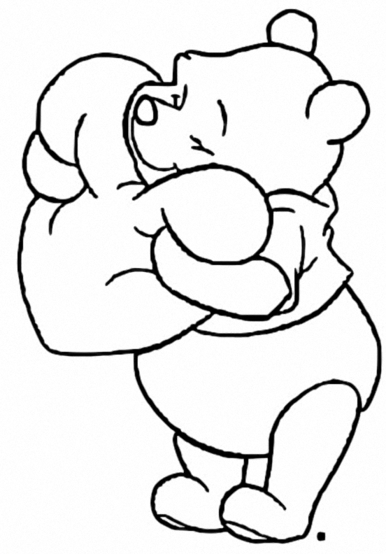 Winnie The Pooh Coloring Page 222
