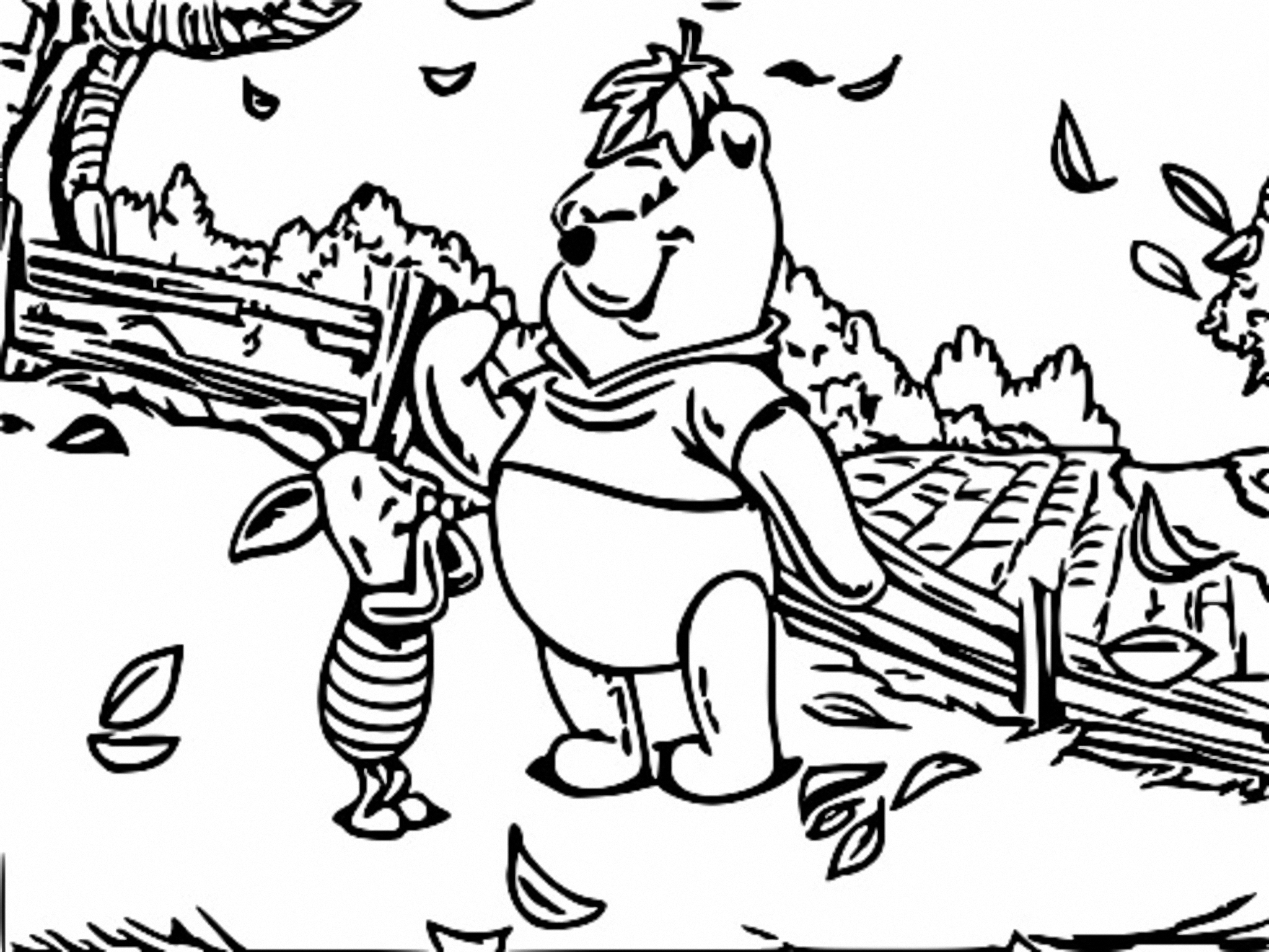 Winnie The Pooh Coloring Page 230