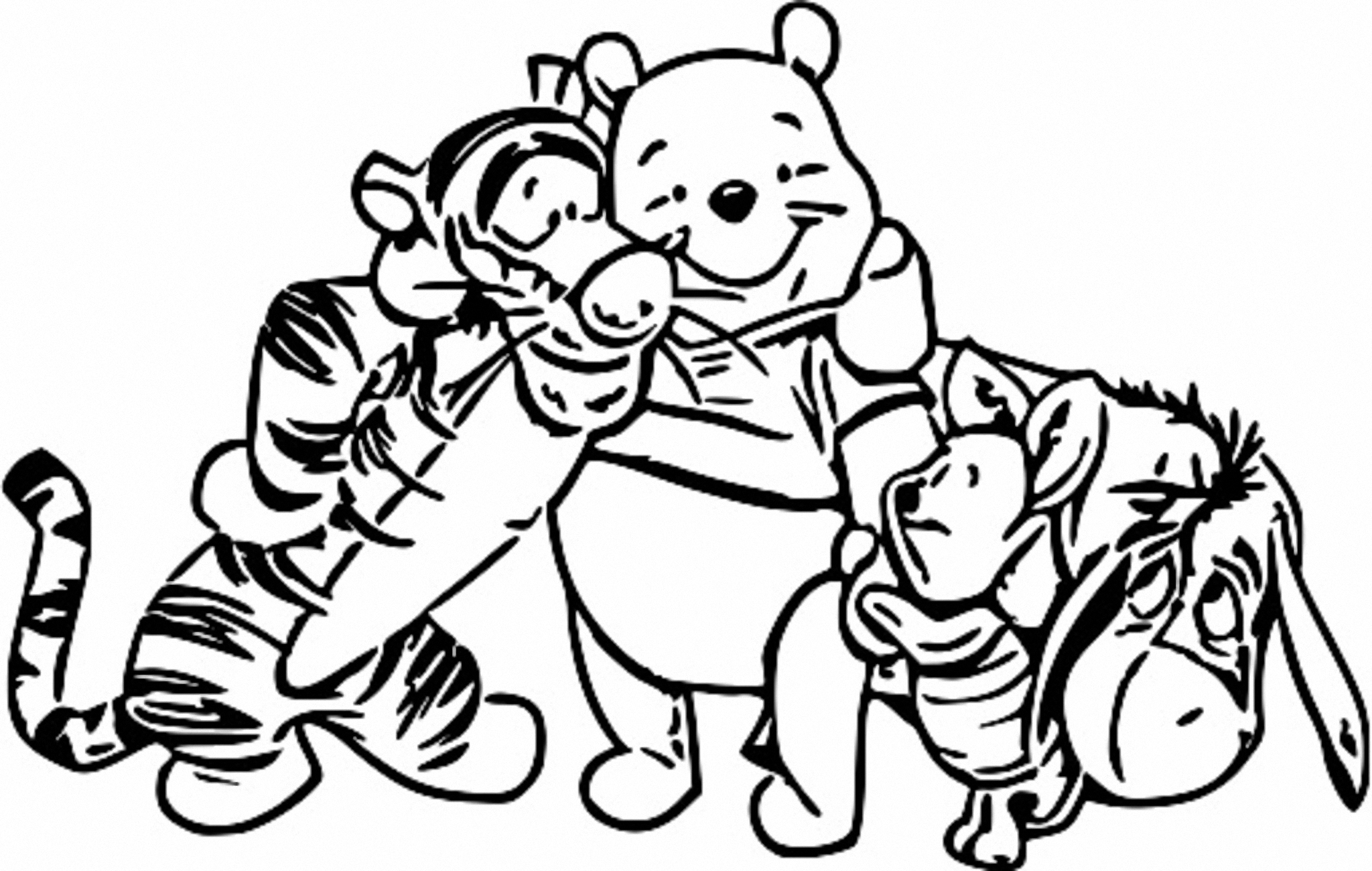 Winnie The Pooh Coloring Page 238