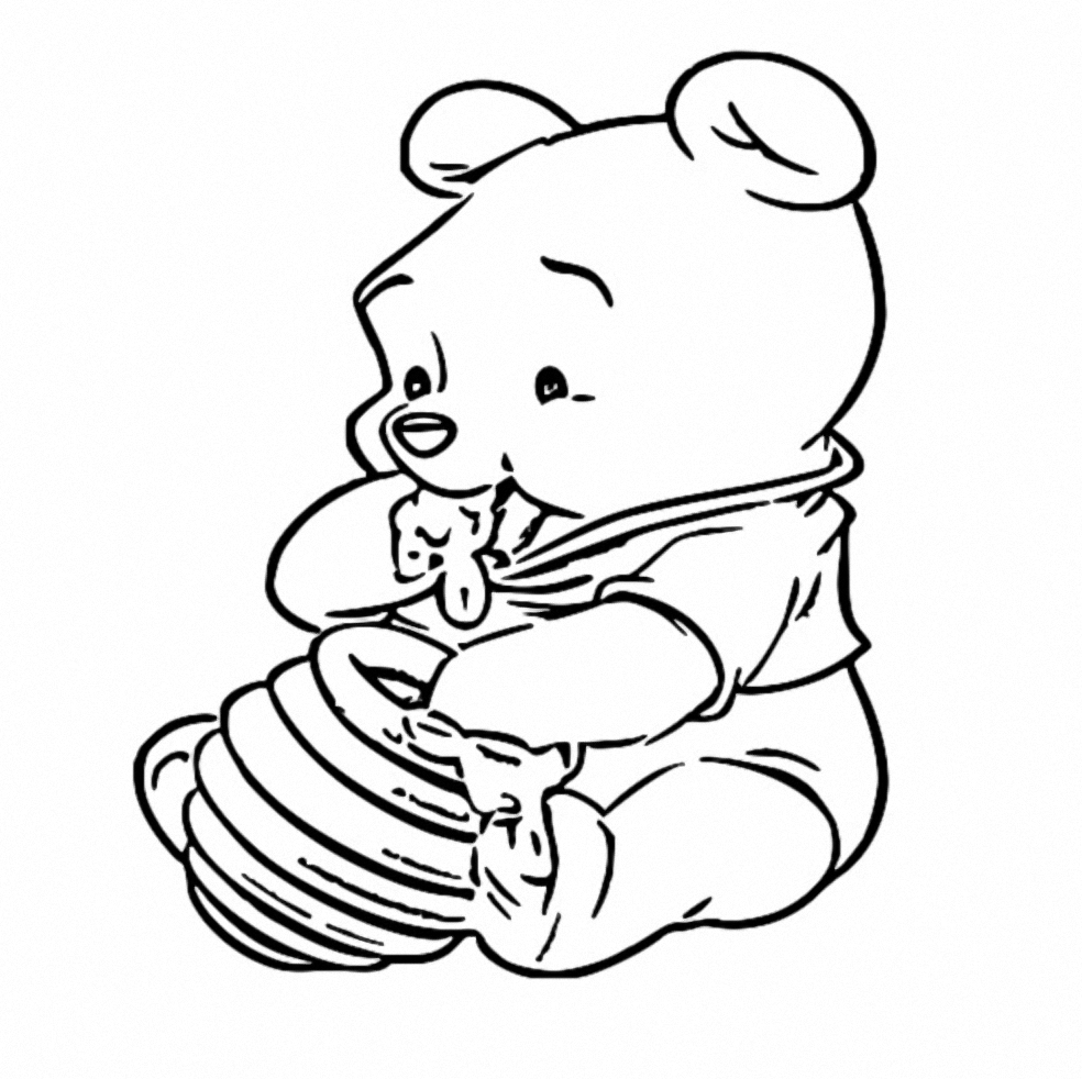 Winnie The Pooh Coloring Page 240