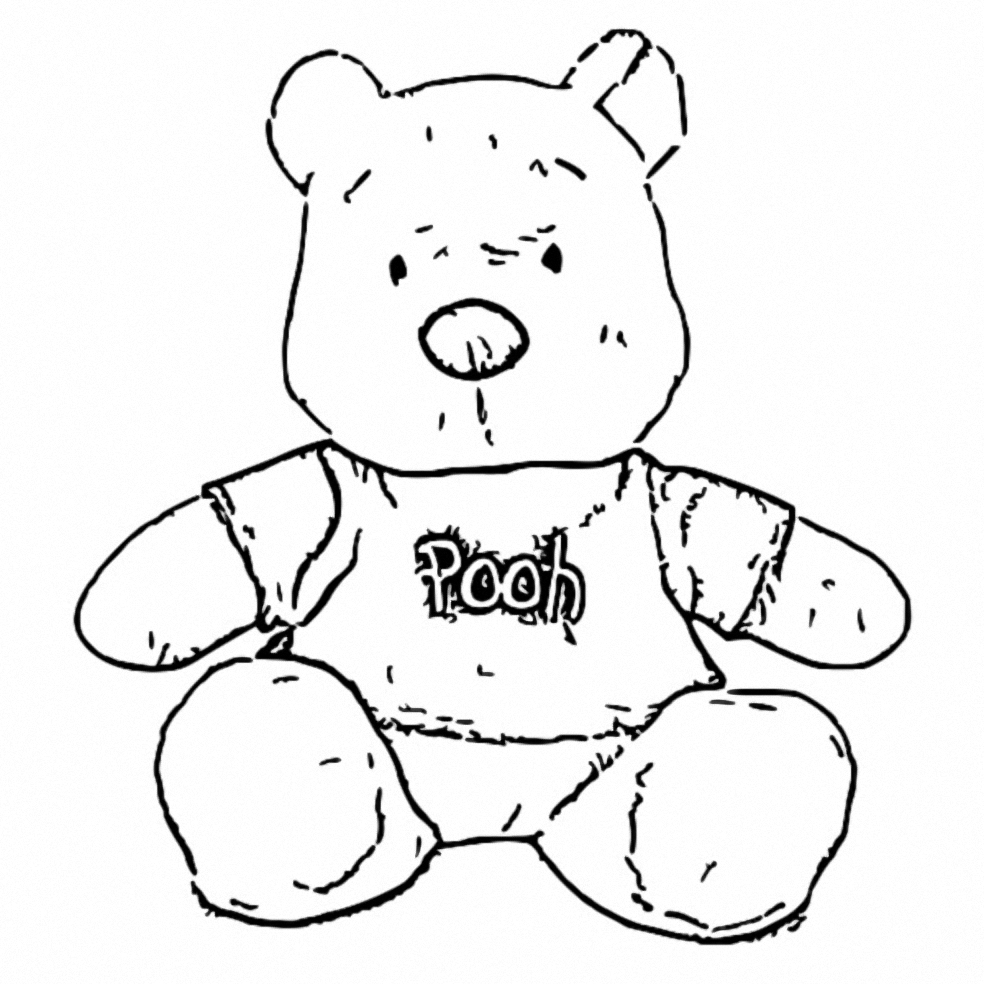 Winnie The Pooh Coloring Page 241