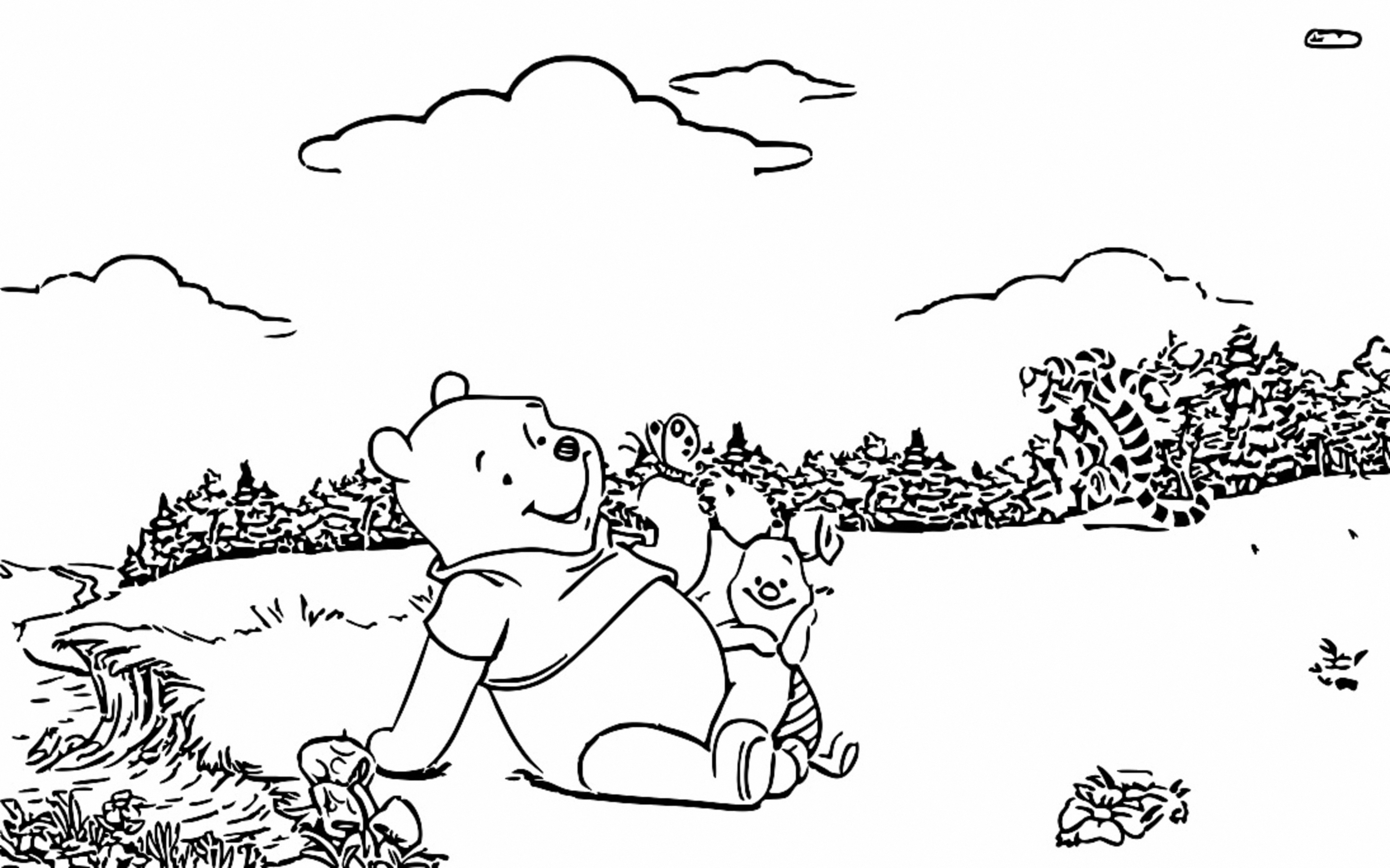 Winnie The Pooh Coloring Page 252