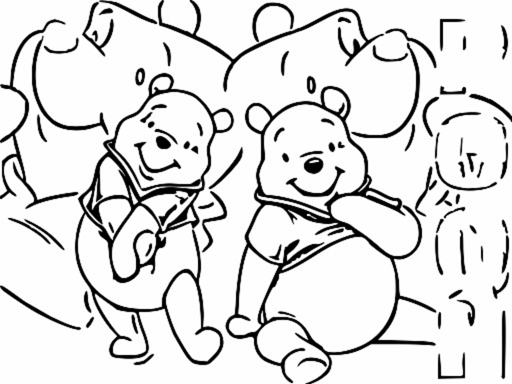 Winnie The Pooh Coloring Page 259