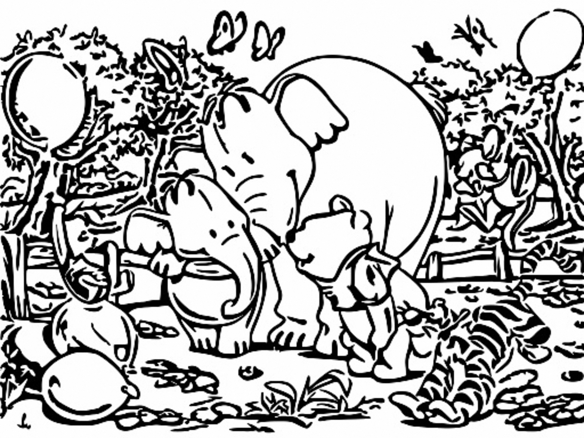 Winnie The Pooh Coloring Page 262