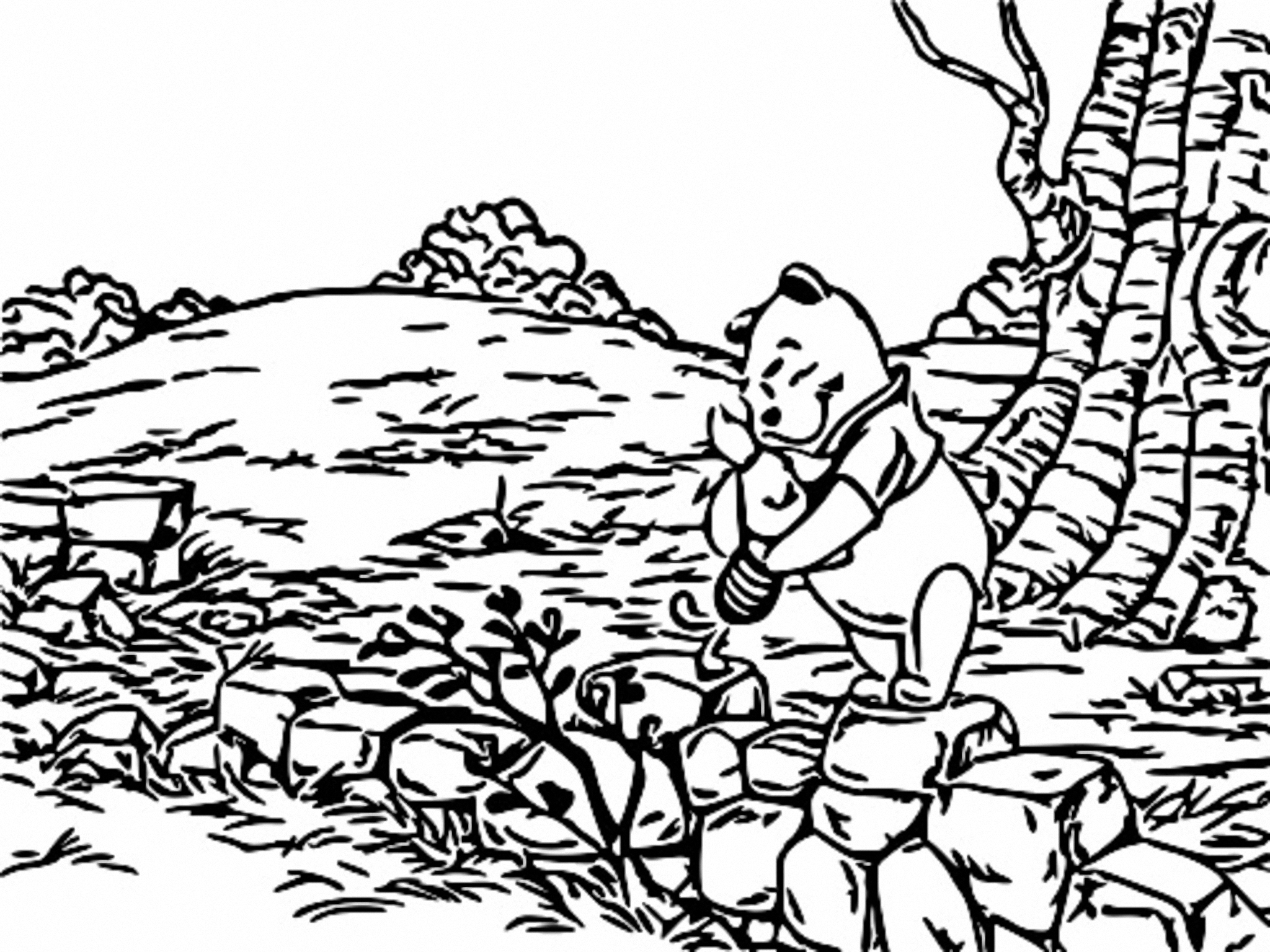 Winnie The Pooh Coloring Page 263