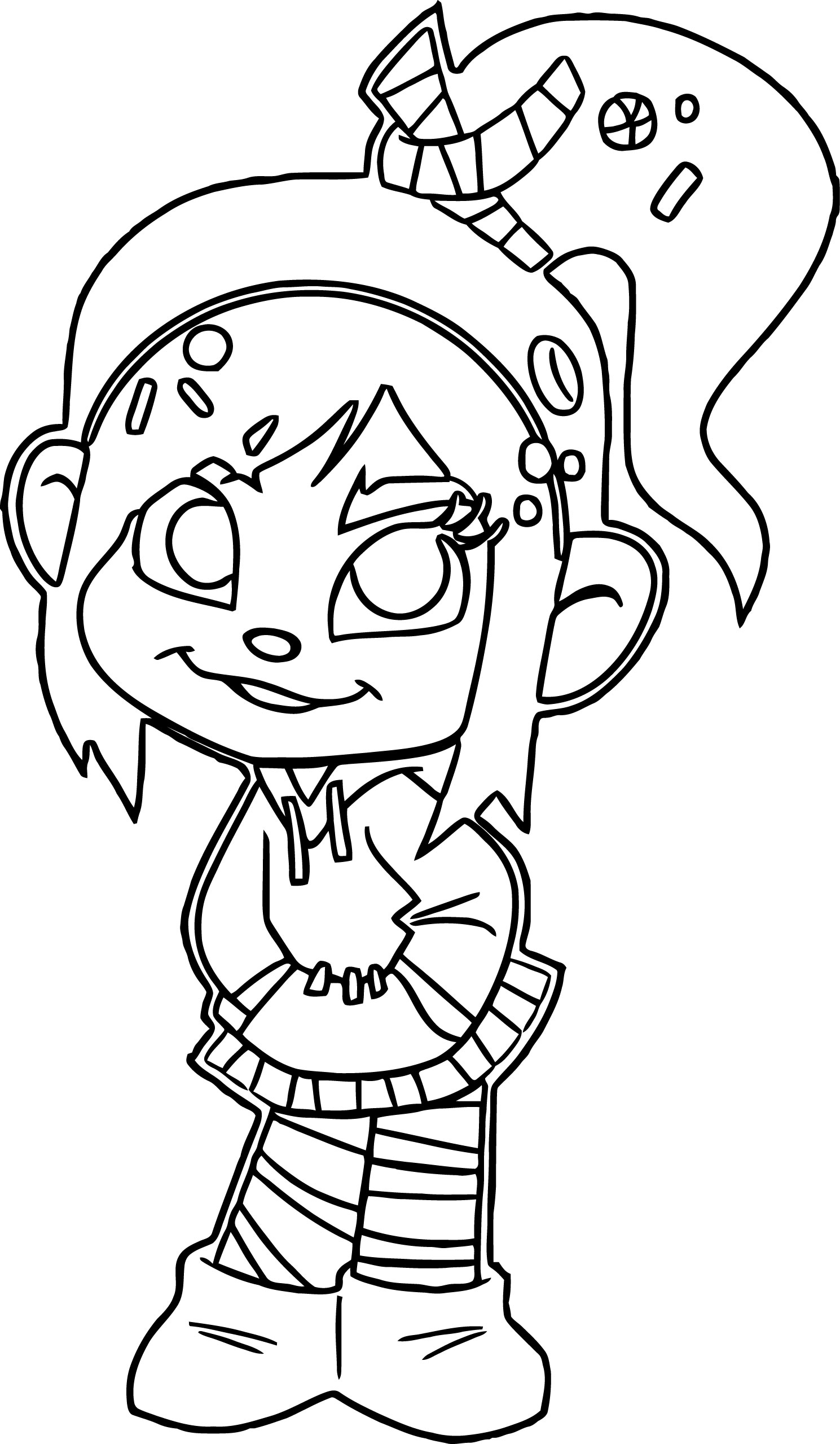 Wreck It 6 Coloring Page