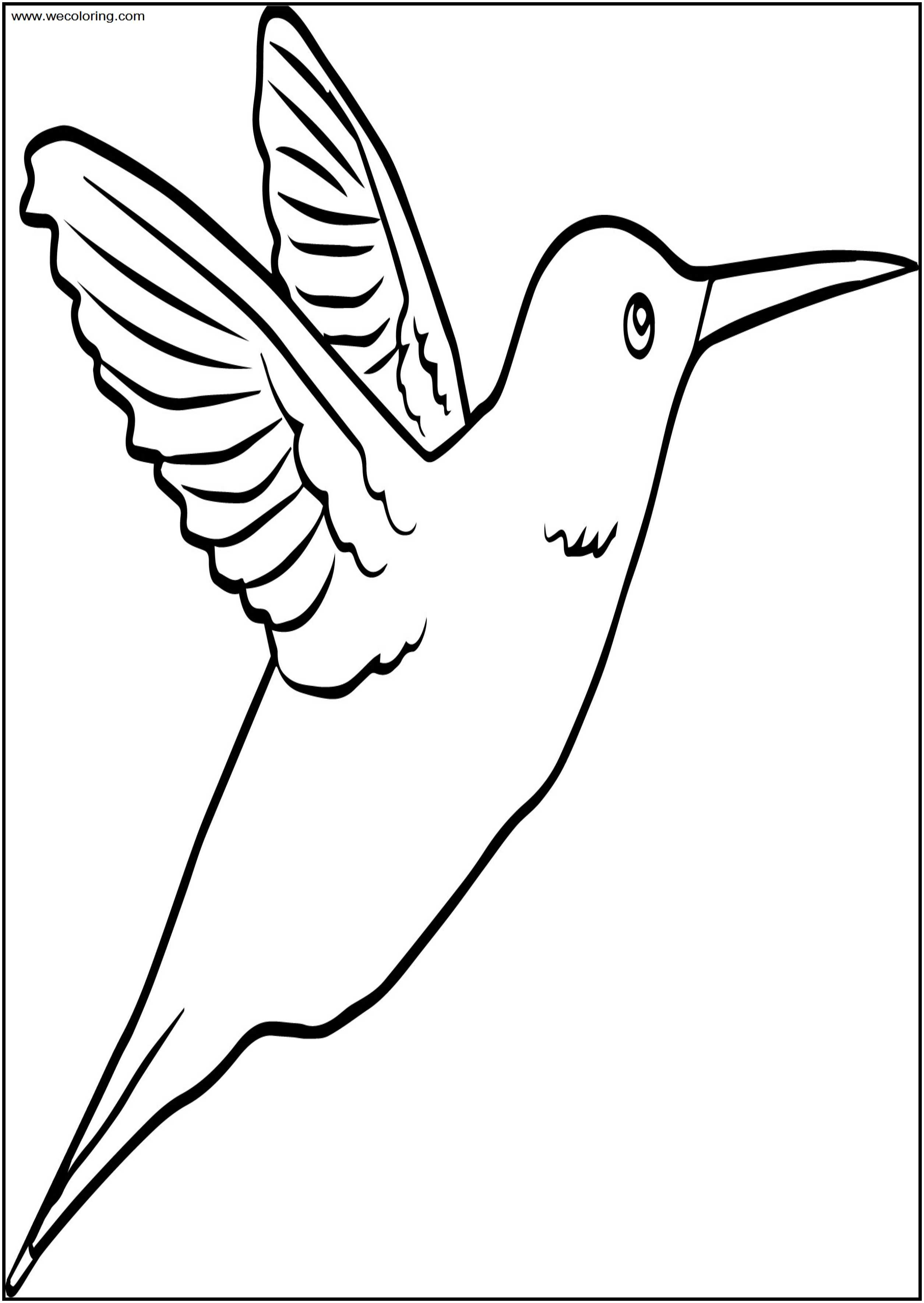 You Bird Free A4 Printable Coloring Page