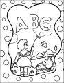 abc scene coloring page