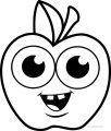 apple coloring pages 13