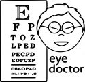asian_eye_doctor_occupation_coloring page