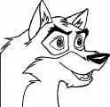 balto dog coloring page (3)