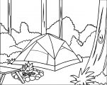 camping_forest_coloring_page