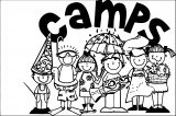 camps coloring page