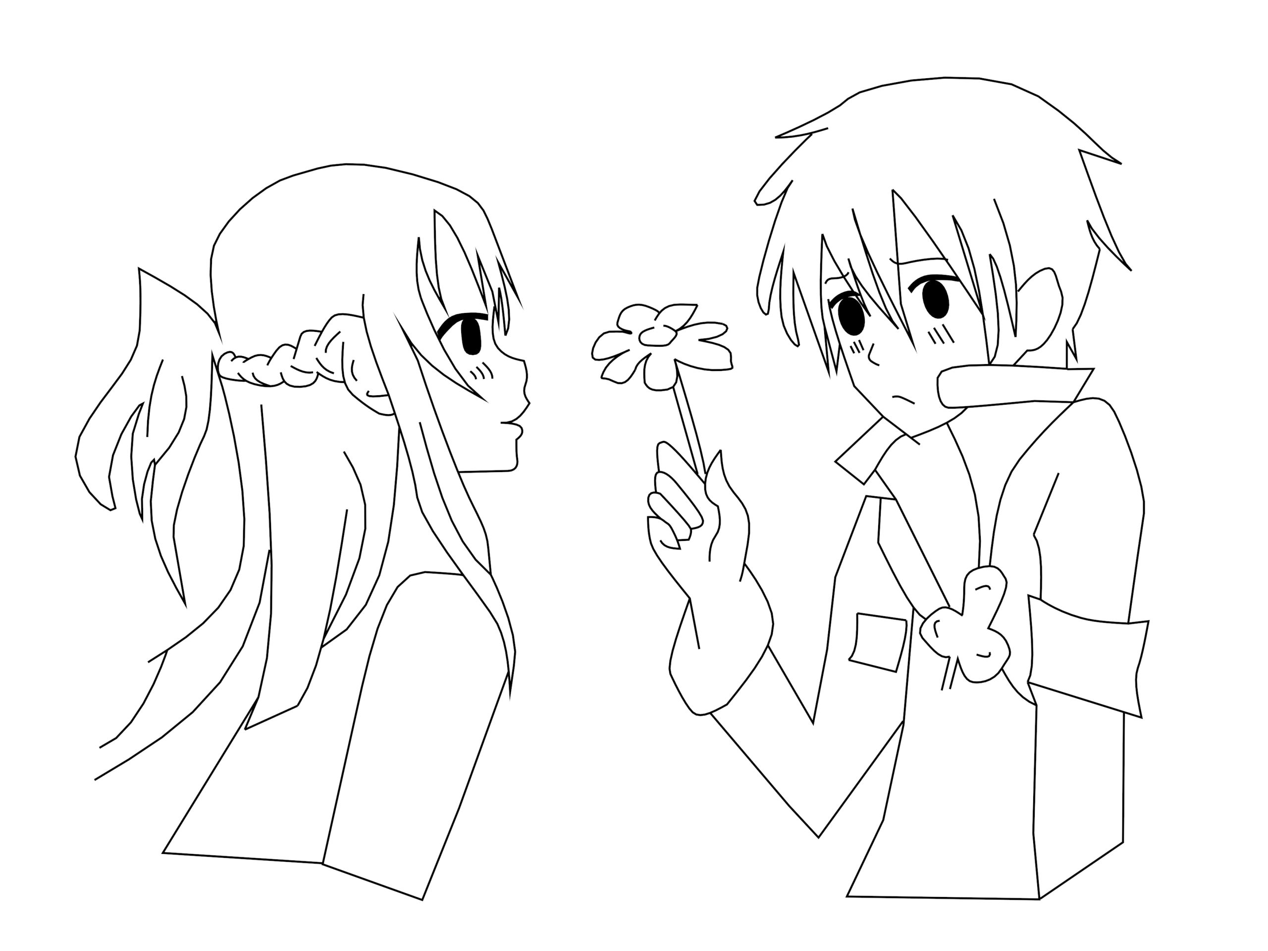 couple inspirationsin onrecious moments kawaii coloring page