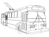 flyer e800f bus coloring page