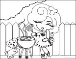 marilyn monroe celebration happy 4th july of cartoon coloring page