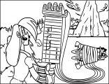 mighty magiswords prohyas Warrior cartoon coloring page